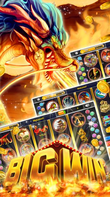 50 Red Dragon Slots: Throne Party & Golden Jackpot screenshot 3