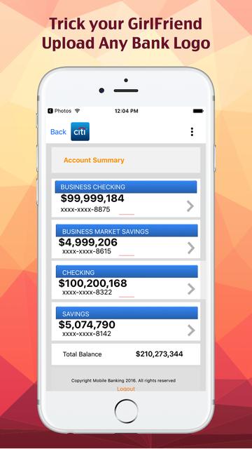 Fake Bank. screenshot 1