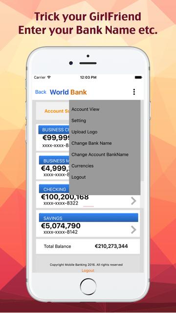 Fake Bank. screenshot 2