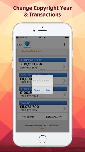 Fake Bank. screenshot 3