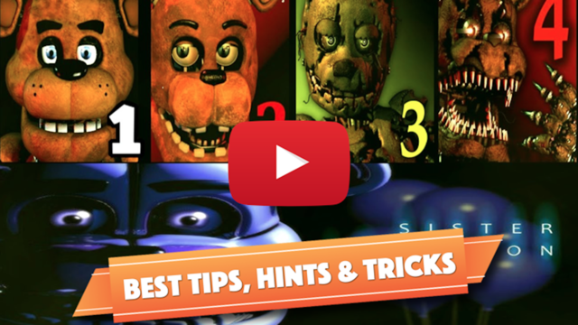 All in one Cheat For Five Nights At freddy's 4 - 1 screenshot 1