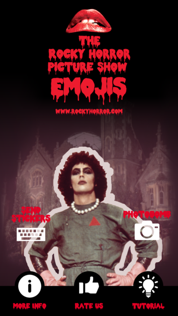 The Rocky Horror Picture Show Emojis screenshot 1