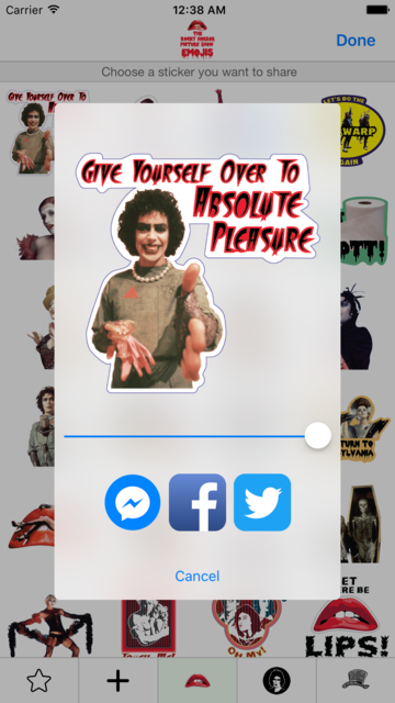 The Rocky Horror Picture Show Emojis screenshot 2