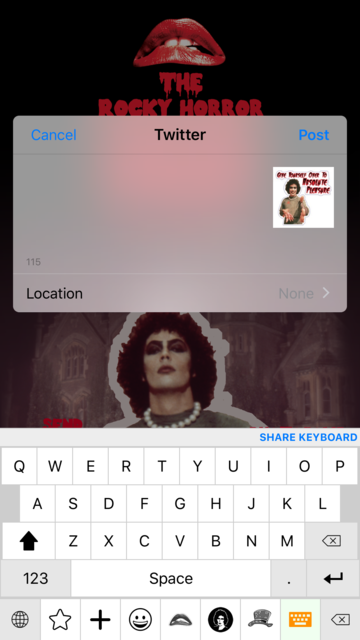 The Rocky Horror Picture Show Emojis screenshot 3