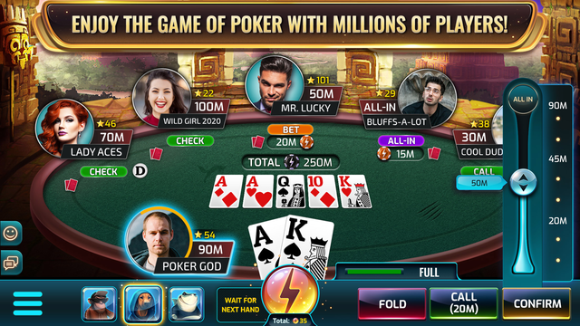 Wild Poker - Texas Holdem screenshot 1