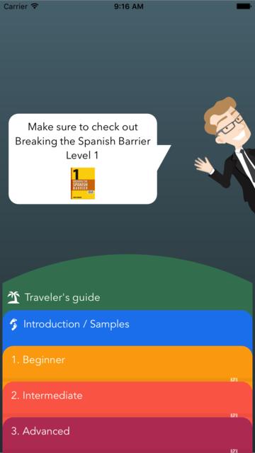 Spanish Vocabulary Flashcards Premium screenshot 1
