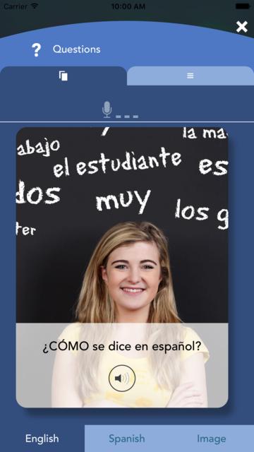 Spanish Vocabulary Flashcards Premium screenshot 3