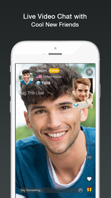 Famous video chat app in usa