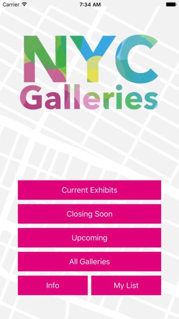 NYC Galleries screenshot 5