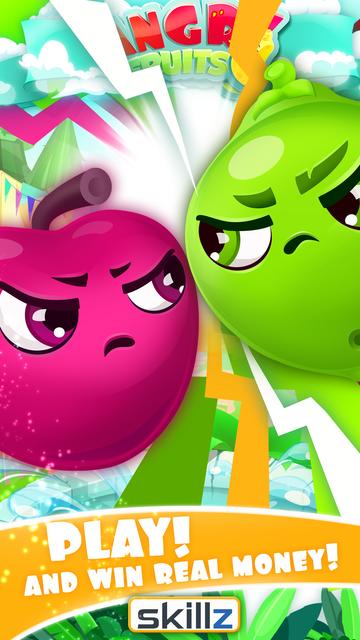 Angry Fruits 1 VS 1 Puzzle : Real Money Gaming screenshot 4