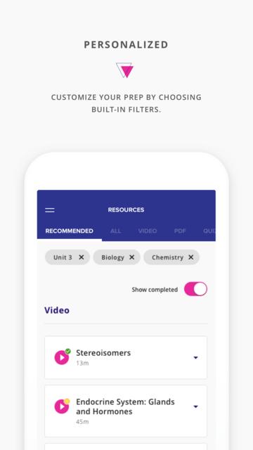Kaplan Mobile Prep screenshot 3