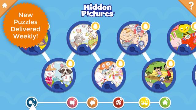 Hidden Pictures Puzzle Town screenshot 13