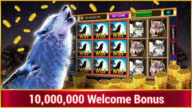 Wild Wolf Slots : Free Vegas Casino Slots screenshot 1