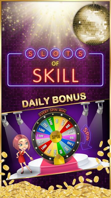 Slots of Skill - Real Vegas Video Slot Machines screenshot 1