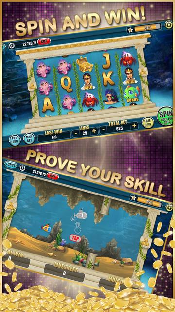 Slots of Skill - Real Vegas Video Slot Machines screenshot 2