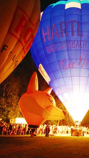 VR Ballooning and Night Glow Virtual Reality 360 screenshot 1