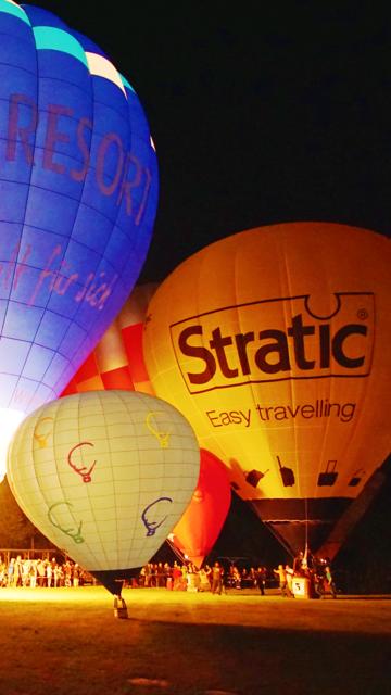 VR Ballooning and Night Glow Virtual Reality 360 screenshot 2