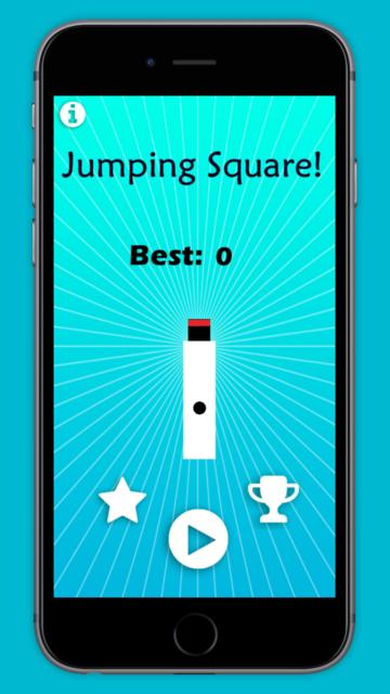 Jumping Square! screenshot 1