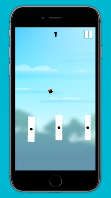 Jumping Square! screenshot 2