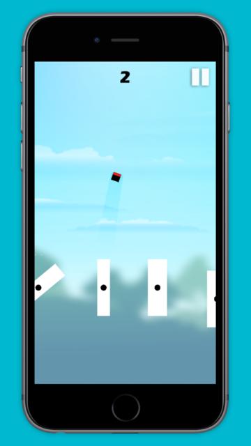 Jumping Square! screenshot 3