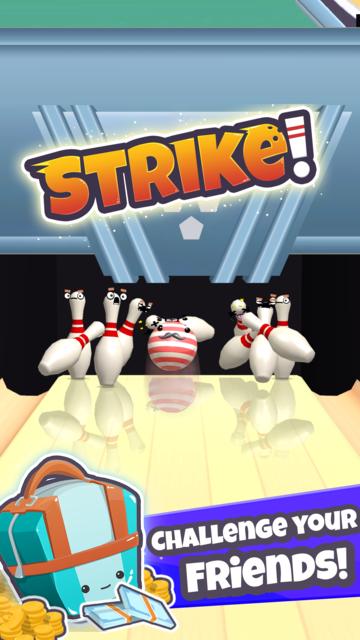 Moji Bowling screenshot 2