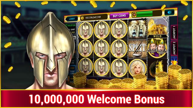 Gladiator Slots : Free Vegas Casino Slots screenshot 1