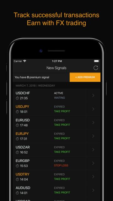 Forex Signals - Daily Tips screenshot 1