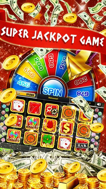 Wheel of Big Jackpot Slots: New Slot Machines 777 screenshot 1