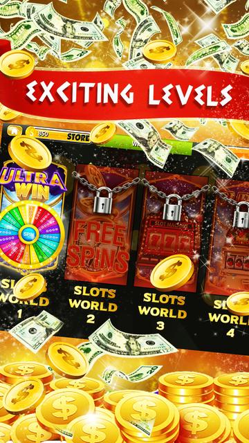 Wheel of Big Jackpot Slots: New Slot Machines 777 screenshot 3