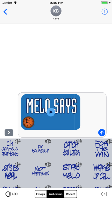 MeloMoji with Audioisms screenshot 4
