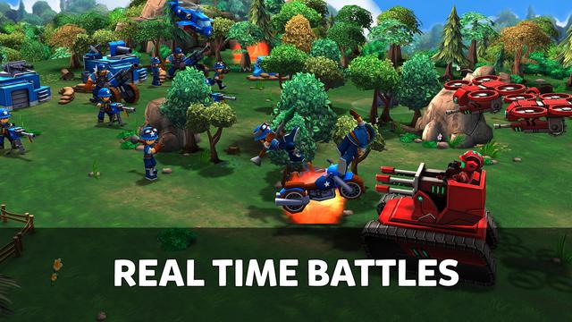 Mini Guns - Omega Wars screenshot 4