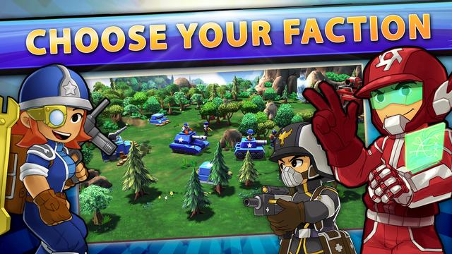 Mini Guns - Omega Wars screenshot 1