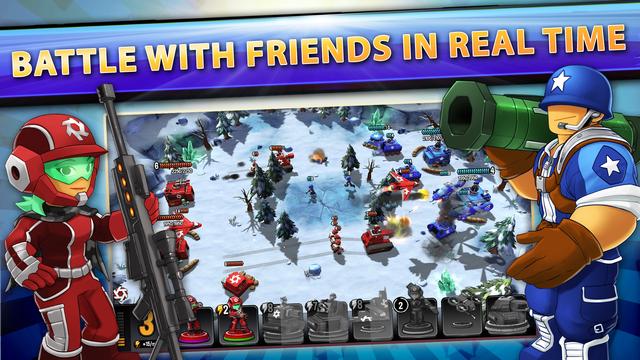 Mini Guns - Omega Wars screenshot 2