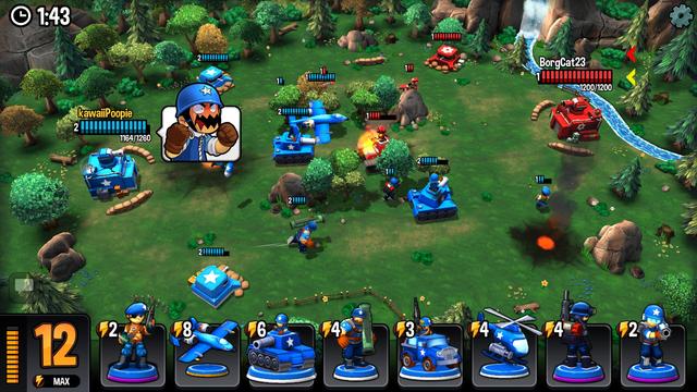 Mini Guns - Omega Wars screenshot 5