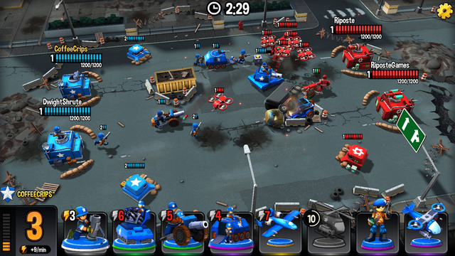 Mini Guns - Omega Wars screenshot 6