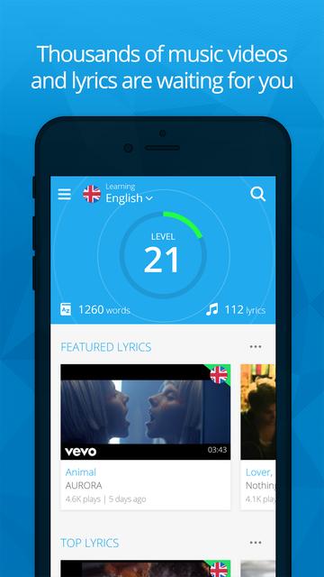 LyricsTraining Learn Languages screenshot 10