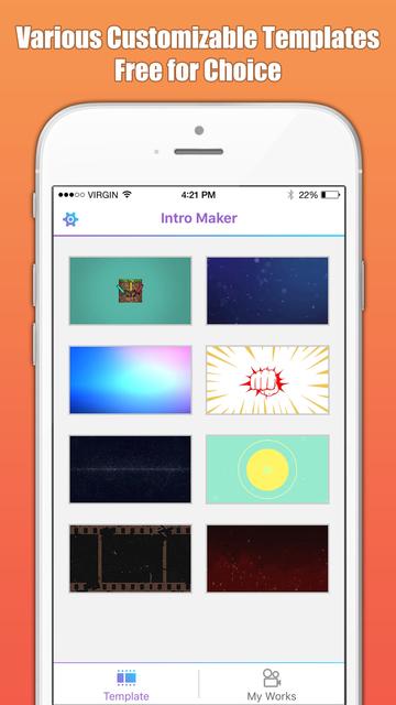 Intro Maker & Designer Free screenshot 1