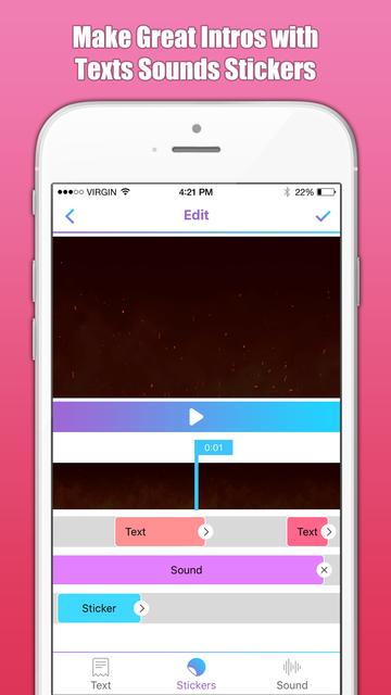 Intro Maker & Designer Free screenshot 2
