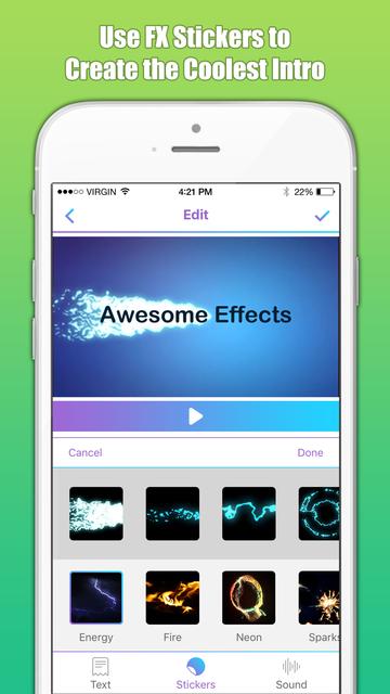 Intro Maker & Designer Free screenshot 5