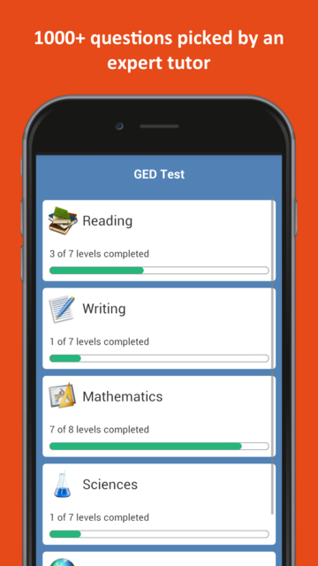 GED® Practice Test 2019 screenshot 16