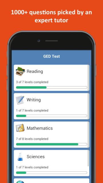 GED® Practice Test 2019 screenshot 26
