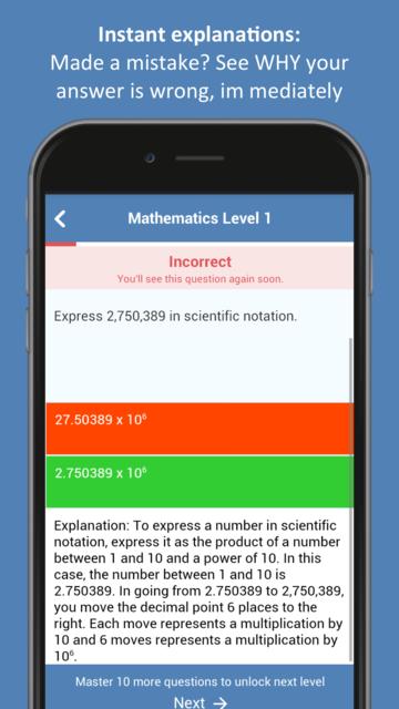 GED® Practice Test 2019 screenshot 7