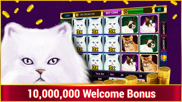 Kitty Glitter Slots : Free Vegas Casino Slots screenshot 1