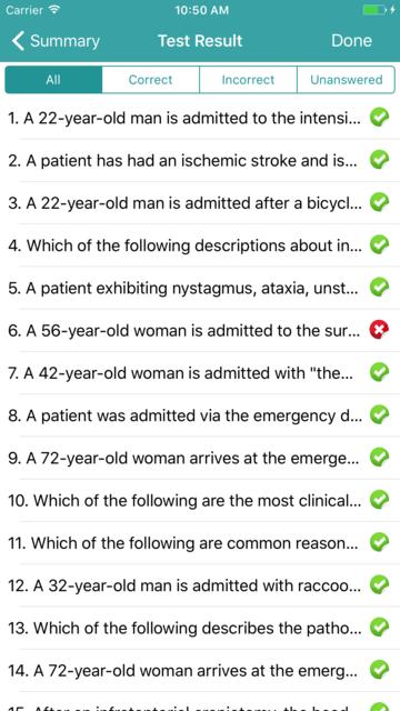 CCRN - Critical Care Registered Nurse Exam 2017 screenshot 5