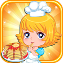 Icon for Dessert Pancakes Cake free Cooking games for girls