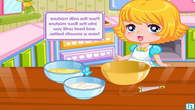 Dessert Pancakes Cake free Cooking games for girls screenshot 2