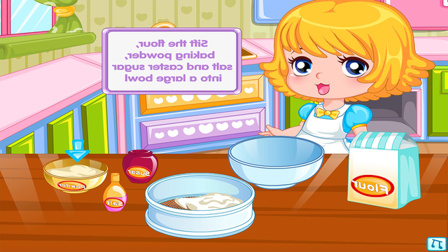 Dessert Pancakes Cake free Cooking games for girls screenshot 3