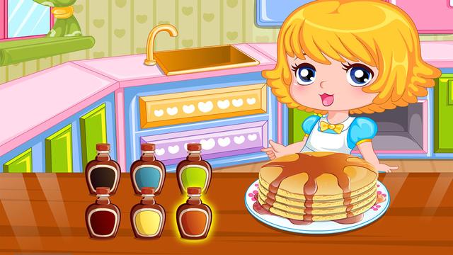 Dessert Pancakes Cake free Cooking games for girls screenshot 4