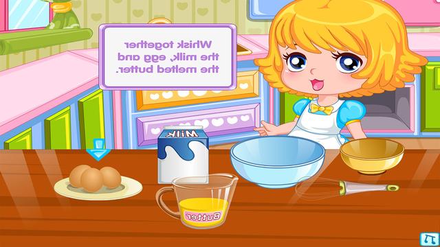 Dessert Pancakes Cake free Cooking games for girls screenshot 5
