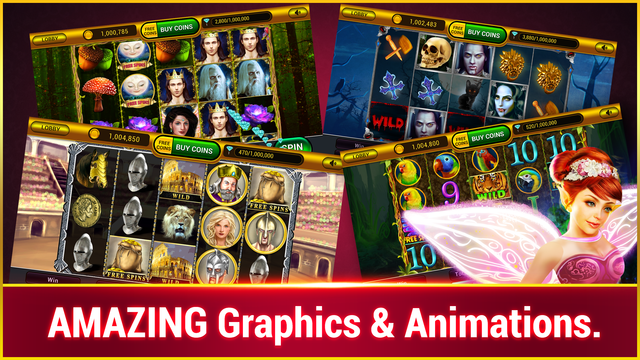 White Buffalo Slots :Vegas Casino Slots screenshot 4